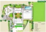 Gyanda Academy, Landscape Plan